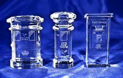 Vintage Crystal Posting Box Sets.