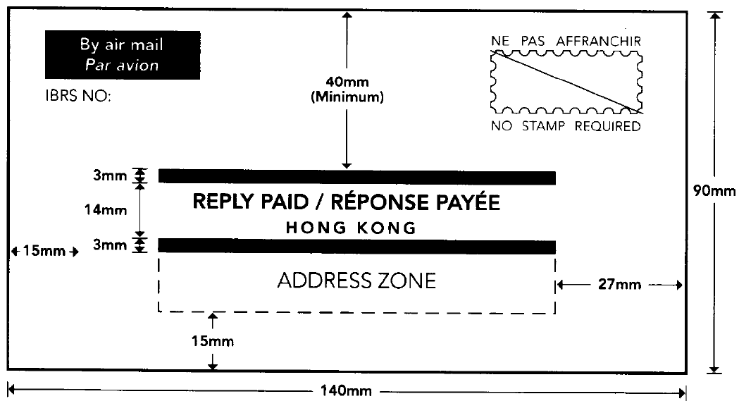 Hongkong Post - International Business Reply Service
